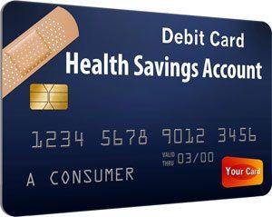 health savings account debit card